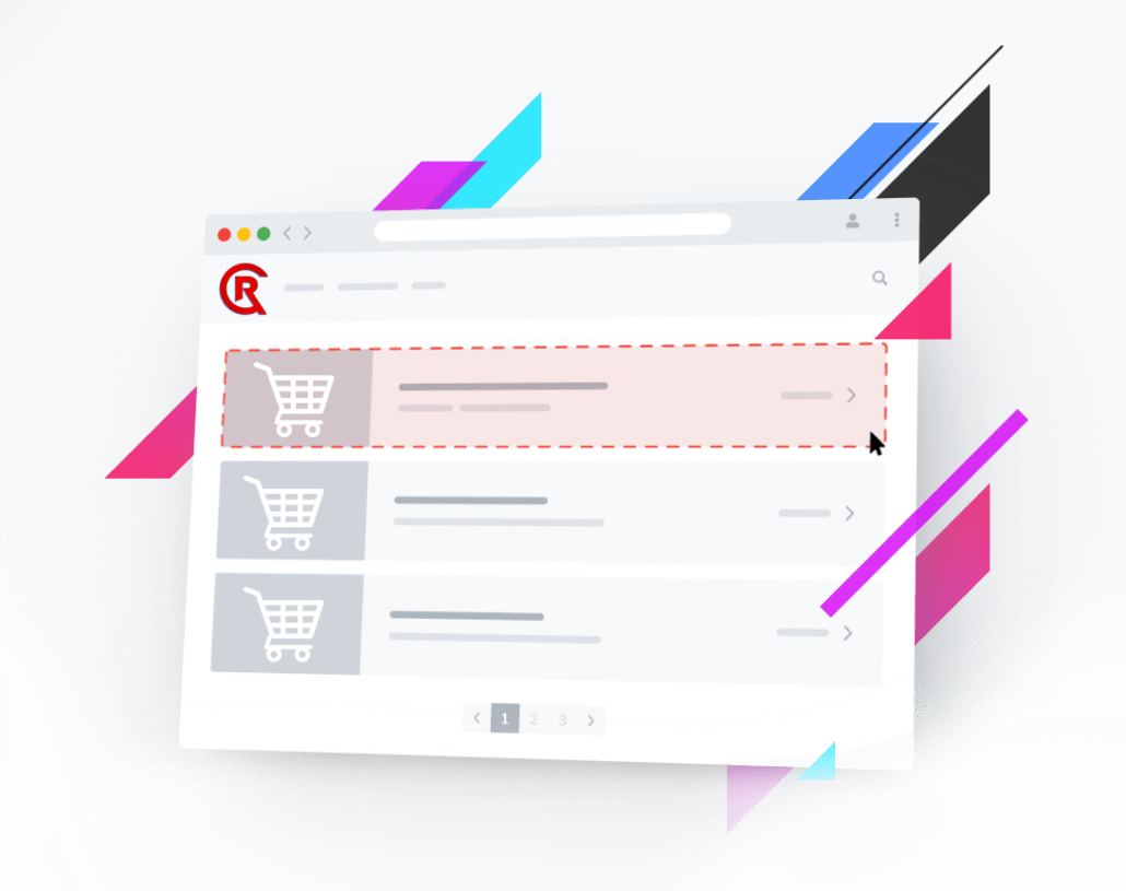 E-commerce is the activity of electronically buying or selling of products on online services or over the Internet.